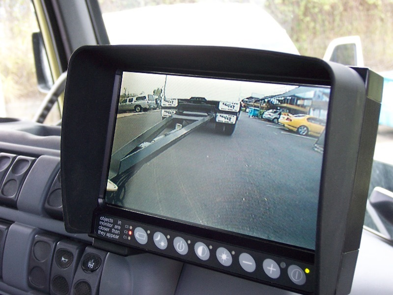 View of Rigid Tipper ready to unload