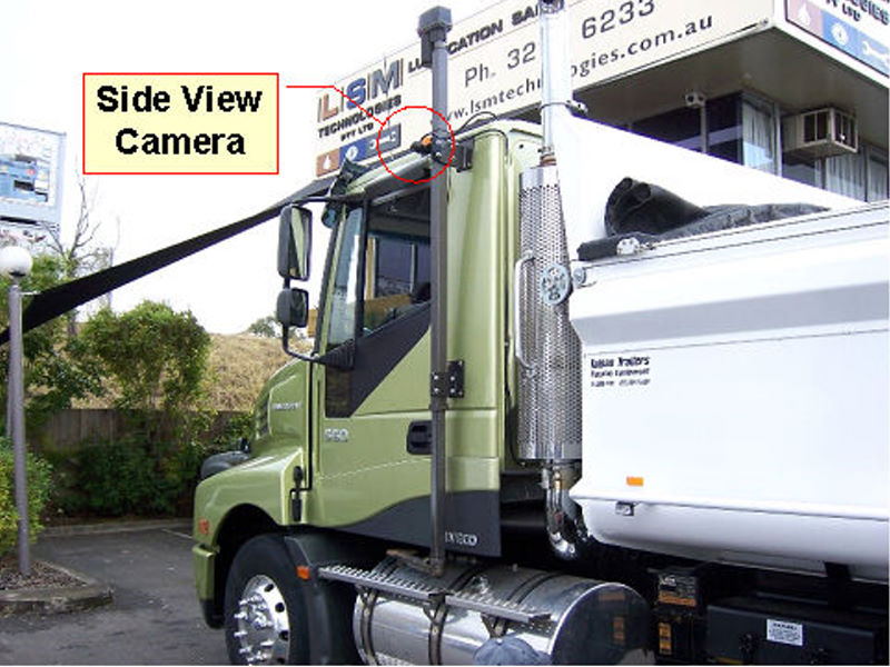 Blind Side View Camera