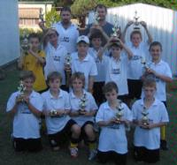 LSM Technologies sponsored Moggill Soccer Team- Always on Top!