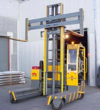 Red- Australia- One Steel Tasmania use Orlaco on Baumann Forklift