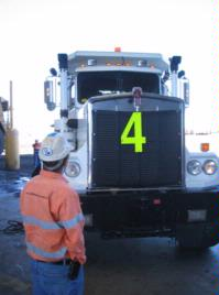 BMA- Blackwater Mines- LSM Technologies / Orlaco Camera Solutions for Kenworth C500 Service Truck