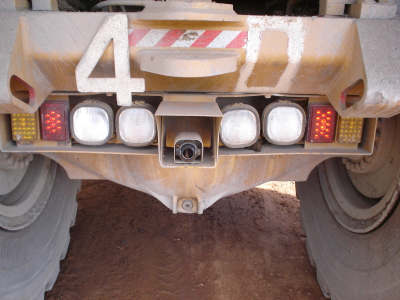 CCCamers mounted on Rear of AD55