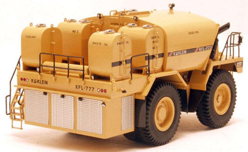 Telfer Mine Cat Lube Truck