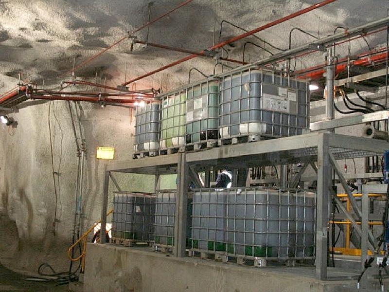 Wmc Bhp Leinster Under Ground Lubrication Workshop