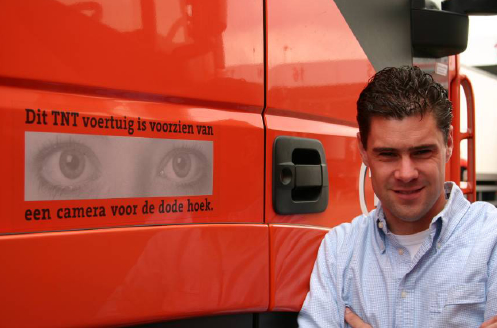 Jeroen Don- coordinates TNT Post Transport's Fleet
