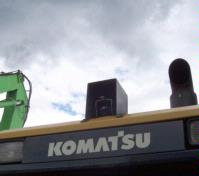 Simms Metals select LSM Technologies / Orlaco Viewing Solution on Komatsu Loader