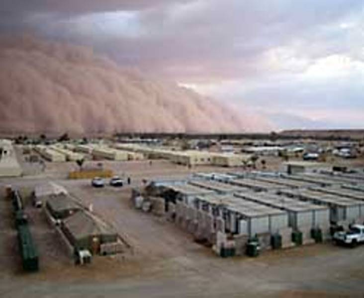 Approaching Sand Storm