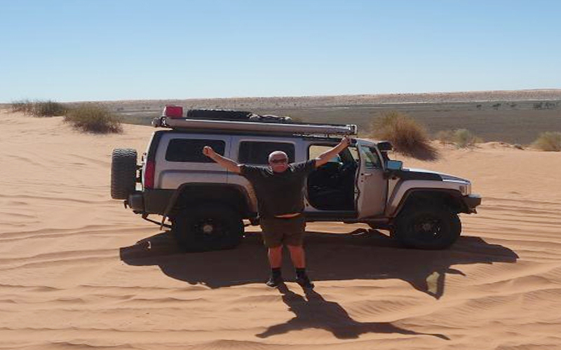 You could only get this excited being in our Aussie Outback
