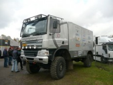 One of the DAKAR vehicles