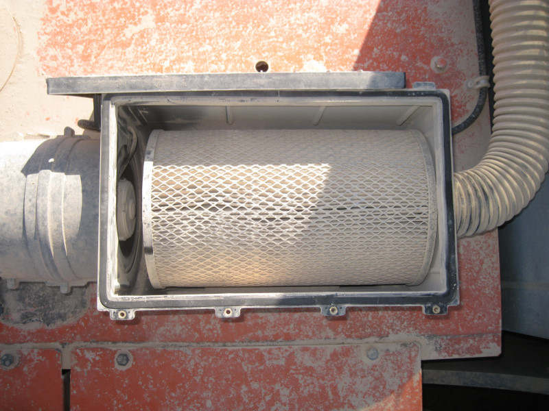 RESPA SD Filter Element after 400 hours of operation. RESPA SD Filter Element after 400 hours of operation.
