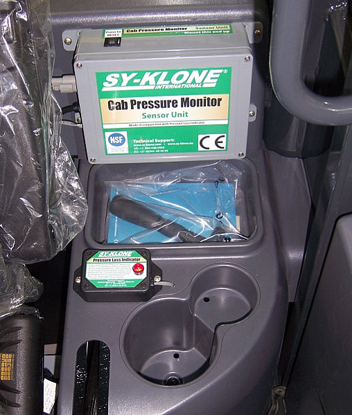 In- Cabin Pressure Monitoring Sensor / Warning Indicator