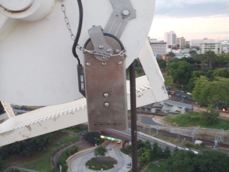 Load View Camera mounted on Tower Crane