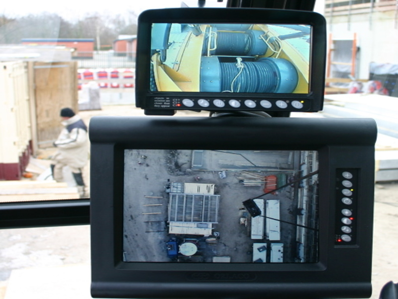 Orlaco LCD Monitor combination-Load View + Winch View