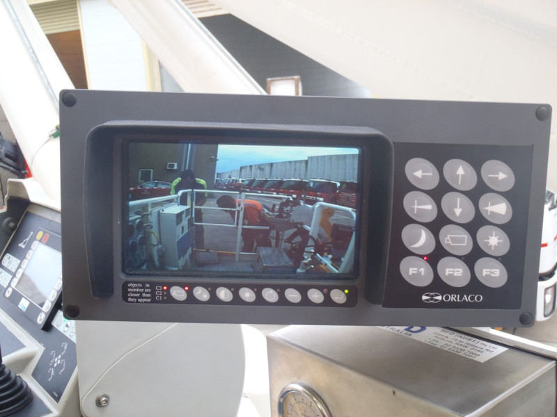 Cage view on Weather proof LCD Monitor with Controls