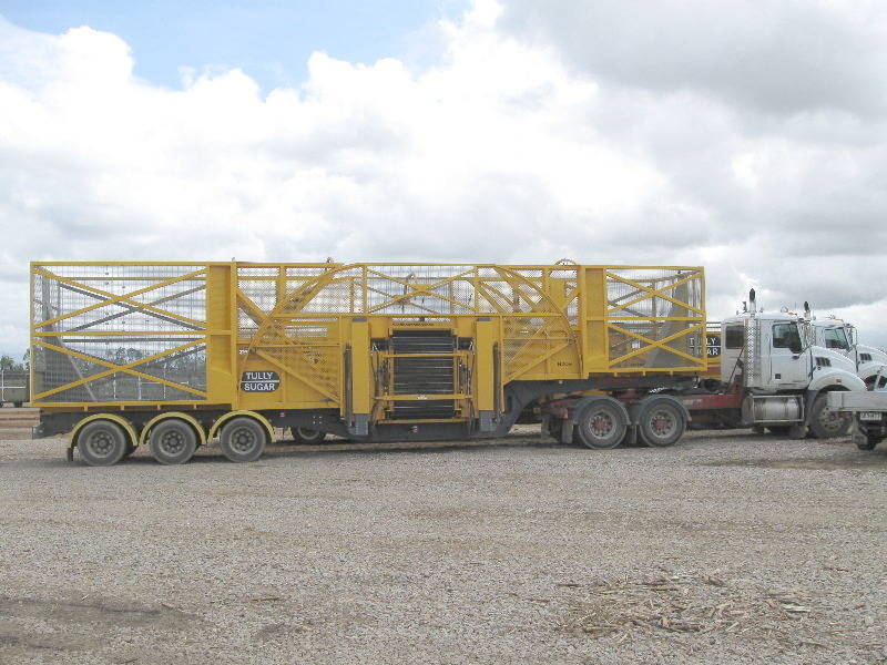 Cane Trailer centre loading point