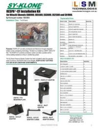 Hitachi Shovel RESPA Kit for Ex 1900- Ex 8000