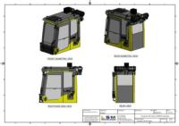 ISO Views of RESPA Kit Assembly Excavators