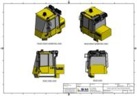ISO Views of RESPA Kit Assembly for Komatsu Wheel Loaders