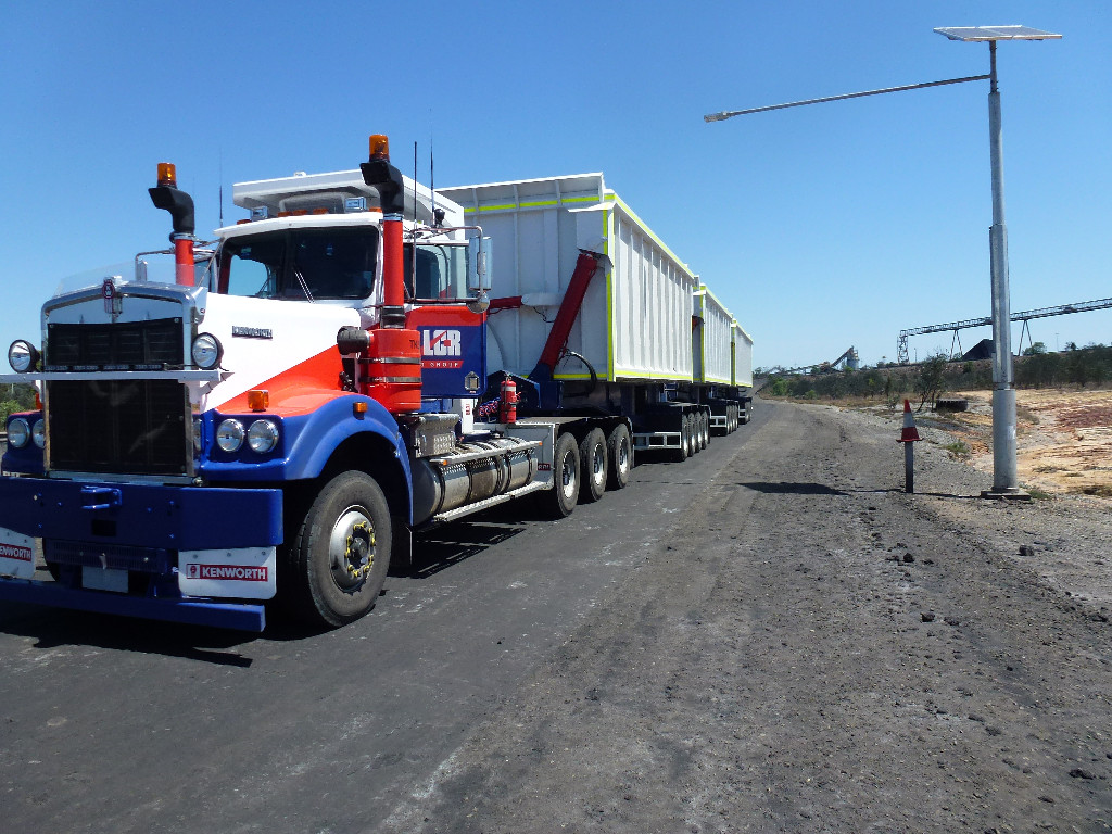 LCR Heavy Haulage Units fitted with MTR360 TPMSystem