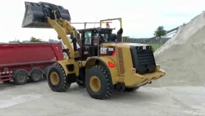 Sibelco Wheel Loader