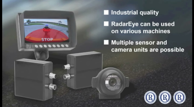 RadarEye Camera Viewing / Proximity Detection Systems
