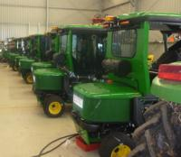 RESPA Quality Cabin Air Systems- maximises protection of Operator & Air- conditioning Health on City Lawnmowers