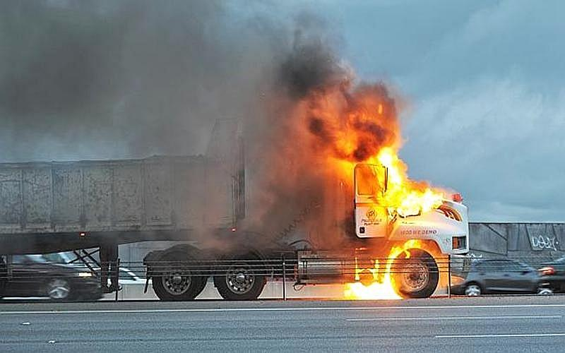 Tyre Fires in the transport Industry are a too common an event