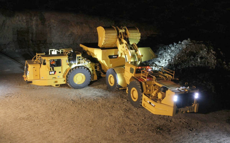 Typical Underground Equipment
