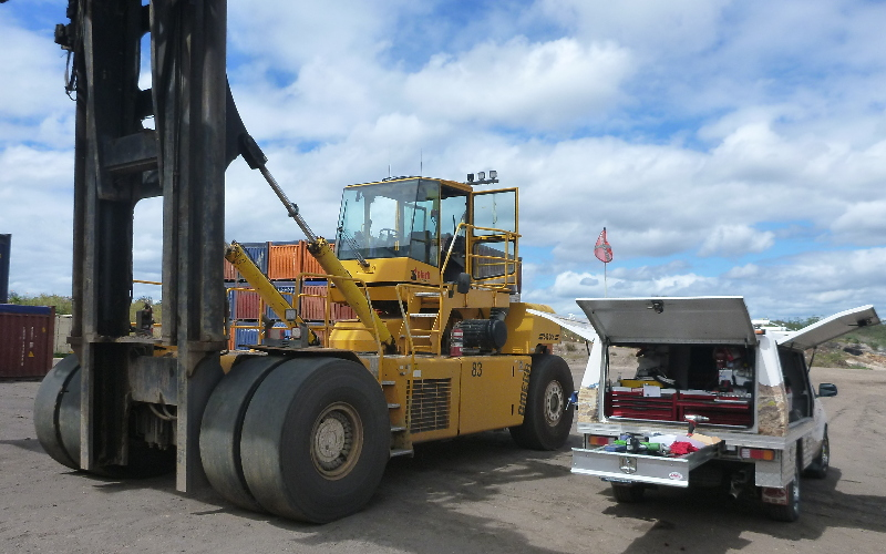TMSystems on Woods Container Handling Equipment