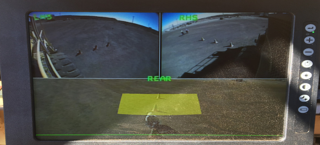 5 x Zone Detection Radar Sensor Overlays-