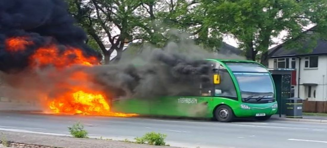 40% of Bus Fires are confined to the Wheel Well