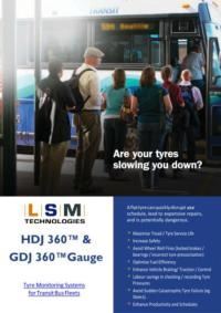 HDJ+GDJ 360 Transit Bus Tyre Monitoring Systems