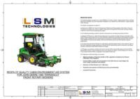 JD 1585 Mower Layout Drawing