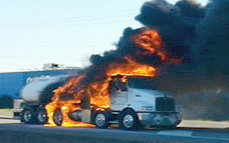 Wheel Well / Tyre Fires a real issue for On- road Heavy Vehicles