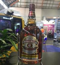 AIMEX 2017 / Winner of Chivas Regal 4.5 litre Stand
