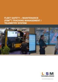 FSM Fleet Safety- Maintenace Management Telemetry System