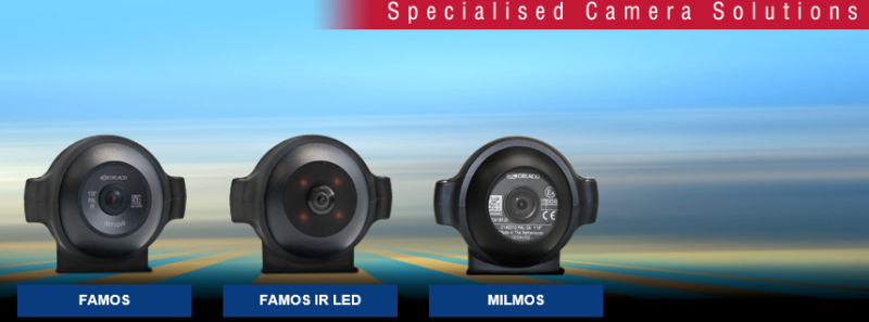 Full range of MIL Spec, IR and Heavy Duty CCCameras with multiple viewing angles