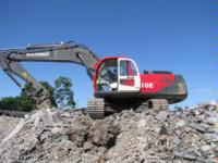 Ranger Excavator- saves more than $15,000 / annum with LSM Technologies / Sy- Klone Precleaners